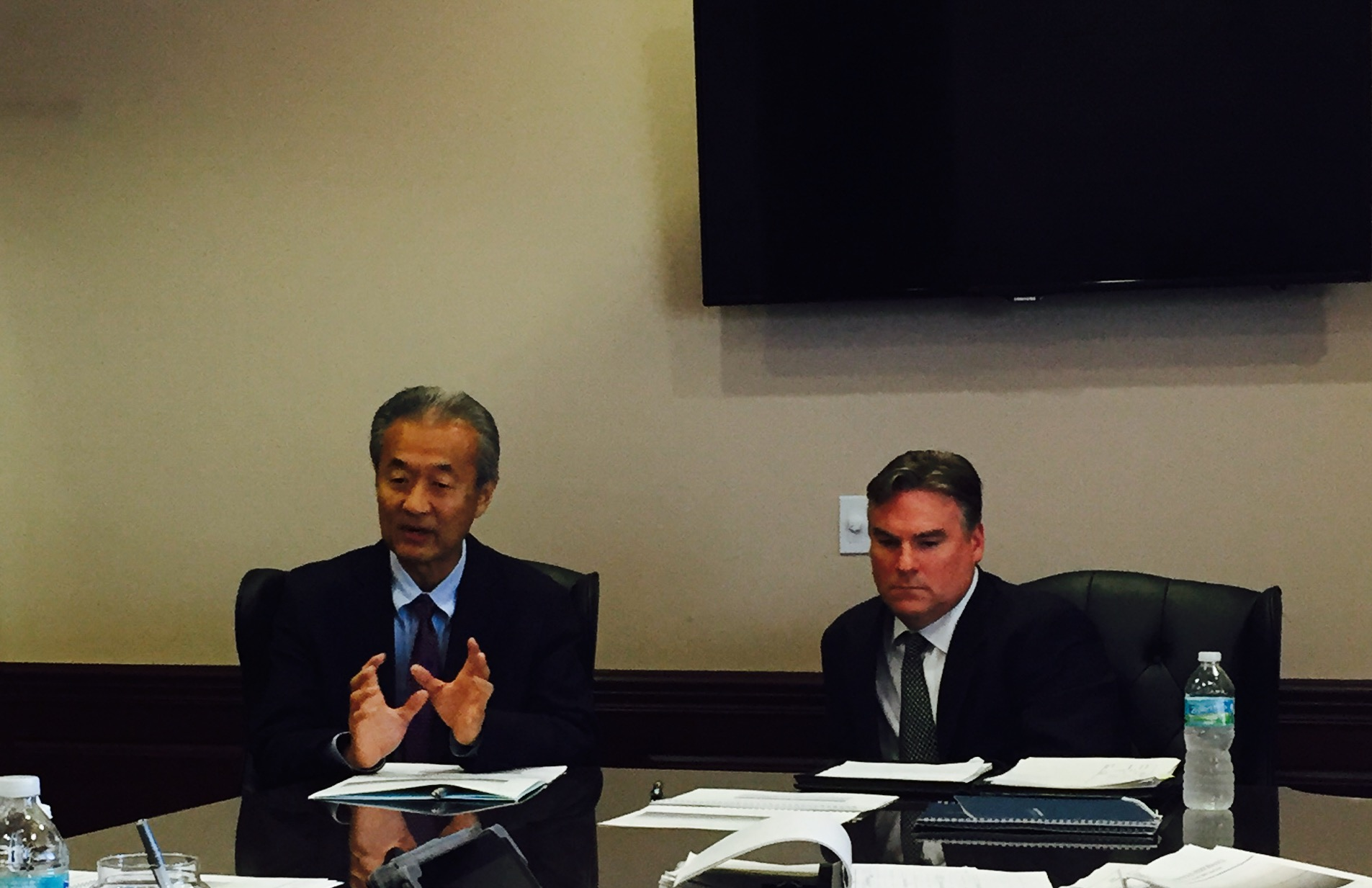 Guy Watanabe, President & Scott Mullet, Principal from GW Capital appeared before the Board to review their investment performance.